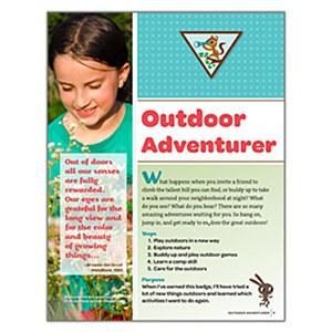 Brownie Outdoor Adventurer Badge Requirements