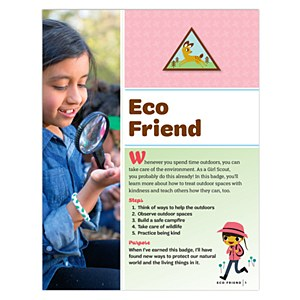 Brownie Eco Friend Badge Requirements