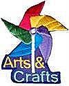 Arts & Crafts Patch-Pinwheel