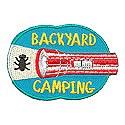 Backyard Camping Patch-Flashlight
