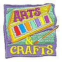 Arts & Crafts Patch-Watercolor