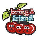 Bring a Friend Patch-Cherries