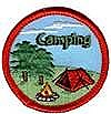 Camping Patch (red circle)