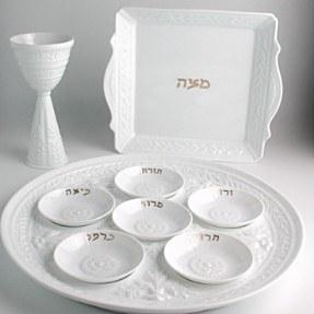 Bernardaud Limoges Louvre Seder Plate Dishes-Set of Six