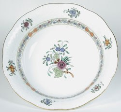 Herend Windsor Garden Oatmeal Bowl