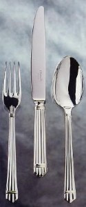 Christofle Aria Silver Serving Spoon