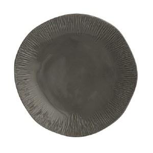Arte Italica Graffiata Dinner Plate-Grey
