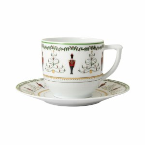 Bernardaud Limoges Grenadiers Coffee Cup