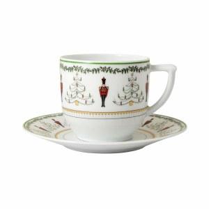 Bernardaud Limoges Grenadiers Coffee Saucer