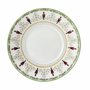 Bernardaud Limoges Grenadiers Dinner Plate