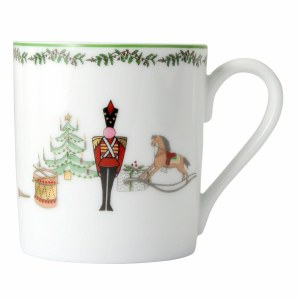 Bernardaud Limoges Grenadiers Mug
