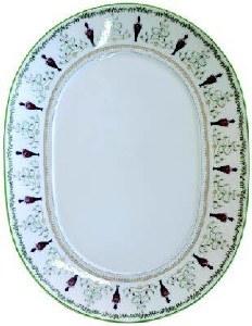 Bernardaud Limoges Grenadiers Oval Platter - Large