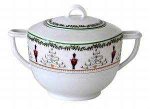 Bernardaud Limoges Grenadiers Sugar Bowl