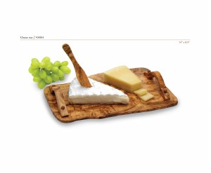 Carre Olive Wood Cheese Tray