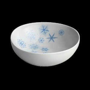 Mottahedeh Snowflake Cereal Bowl