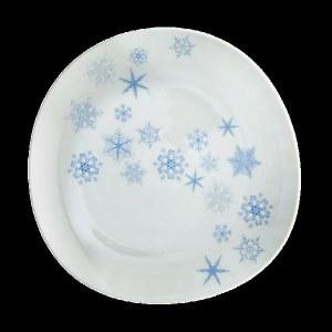 Mottahedeh Snowflake Dinner Plate