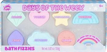 Days of the Week Bath Fizzies
