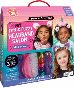 Fun and Fuzzy Headband Salon
