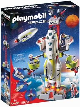 Mission Rocket w/Launch Site