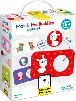 Match The Buddies Puzzle
