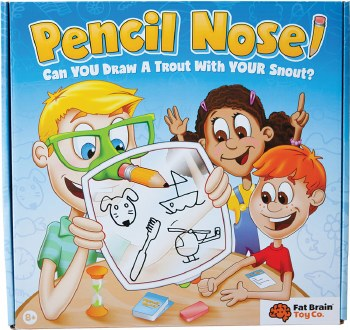 Fat Brain Toys Pencil Nose! Game