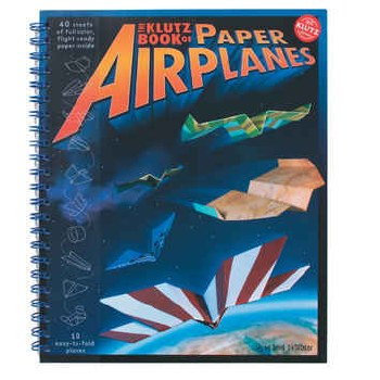 Paper Airplanes Book - Klutz