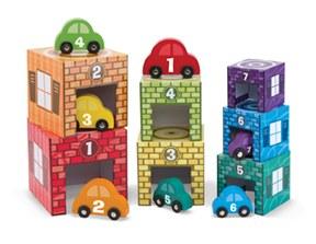 Nesting, Sorting, Garages and Cars - Melissa & Doug