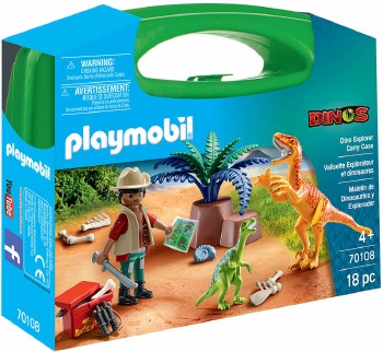 Playmobil Dino Explorer Carry Case