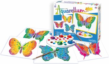 Sentosphere USA Aquarellum Junior - Butterflies