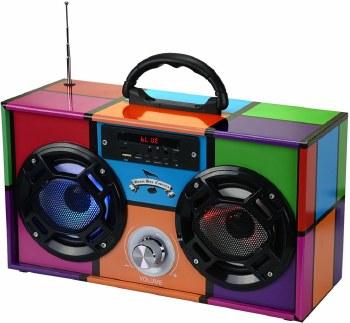 Wireless Express Mini Boom Box Retro