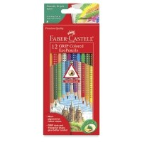 Faber-Castell Colored EcoPencils Grip 12 Piece