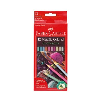 Faber-Castell Colored Pencils Metallic 12  Piece