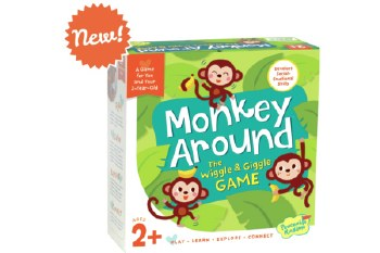 Monkey Around Wiggle/Giggle Game - Peaceable Kingdom Press