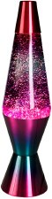 Berry Glitter Lava Lamp 14.5""