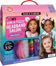 Fun and Fuzzy Headband Salon