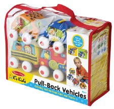 Pull-Back Town Vehicles