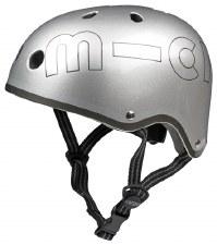 Matte Silver Helmet - Medium