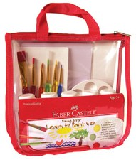 Young Artist Learn-to-Paint Set - Faber-Castell