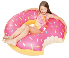 Giant Donut Pool Float - Strawberry - BigMouth Inc.