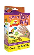 Color-in Tattoo Party - Klutz