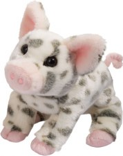 Pauline is the perfect spotted pink pig! For ages 2-10 yrs, from Douglas.