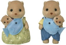 Calico Critters Splashy Otter Family