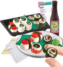 Sushi anyone? For ages 8 yrs-teen, from Fashion Angels.
