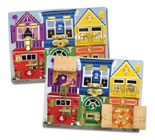 Latches Board Puzzle - Melissa & Doug