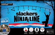 Slackers NinjaLine 36' Intro Kit - 7 Obstacles - B4 Adventure Brand 44