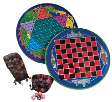 Chinese Checkers Tin - Schylling