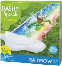 Toysmith Dash n' Splash Rainbow Water Slide