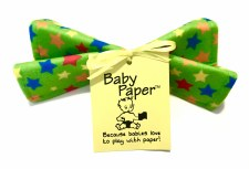 Green Stars Baby Paper - Wize Choice Creations