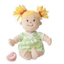 Manhattan Toy Baby Stella Blonde Hair Soft Nurturing Doll