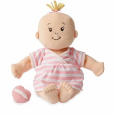 Manhattan Toy Baby Stella Peach Soft Nurturing Doll